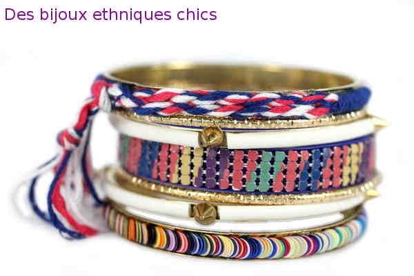 Des bijoux ethniques chics