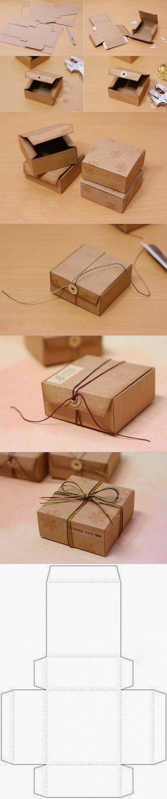 Comment fabriquer une boite cadeau