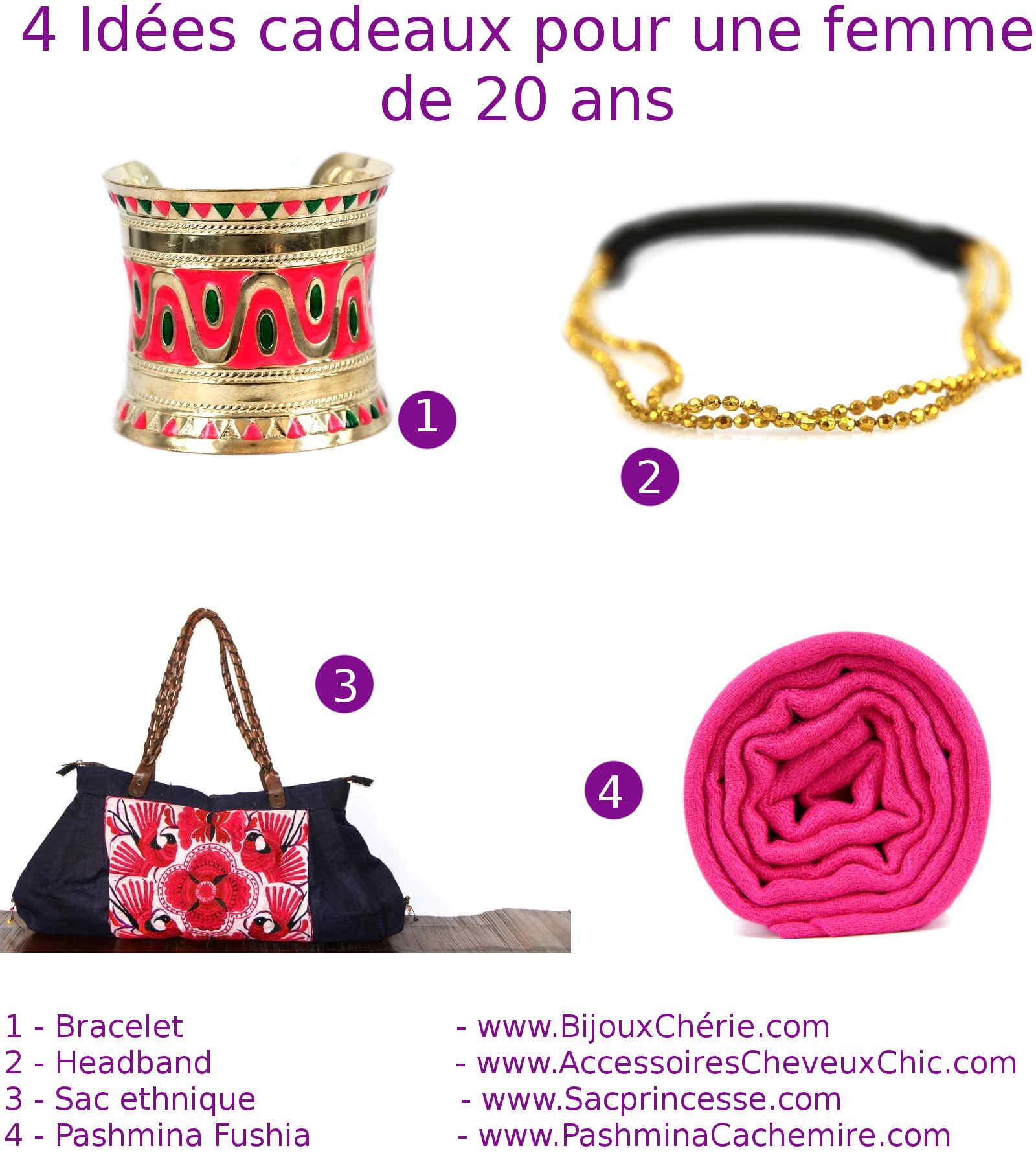 Idée Cadeau Femme 20 Ans   Hetoogvanleonardo bb3d26b4ac2